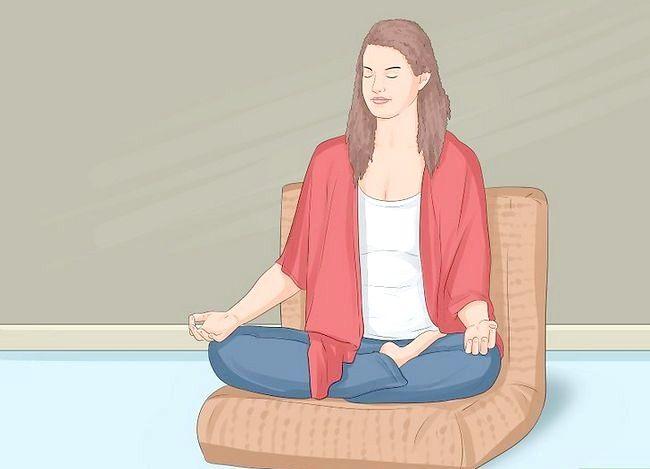 Prent getiteld Praktyk Boeddhistiese Meditasie Stap 6