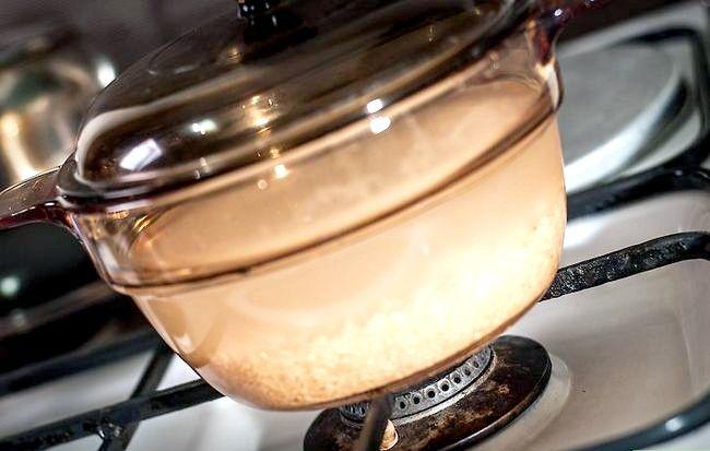 Prent getiteld Cook Garnale Gebraaide Rys Stap 20