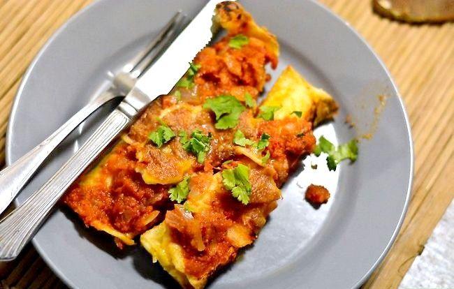 Prent getiteld Maak Meksikaanse Enchiladas Stap 10