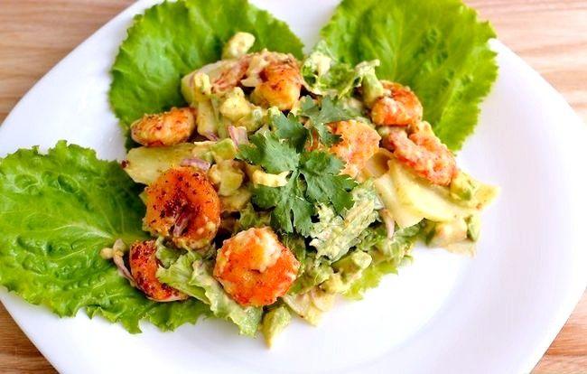 Prent getiteld Maak `n Salade Met Garnale Intro