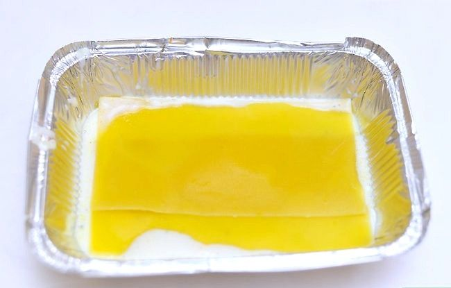Prent getiteld Maak Lasagne Met Vleis Stap 12
