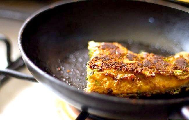 Prent getiteld Maak Almond Crusted Salmon Stap 4