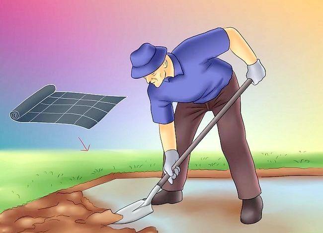 Prent getiteld Maak jou tuin gereed vir `n skuur Stap 15