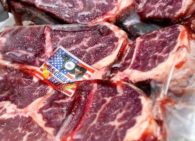 Prent getiteld Maak `n Steak Stap 1