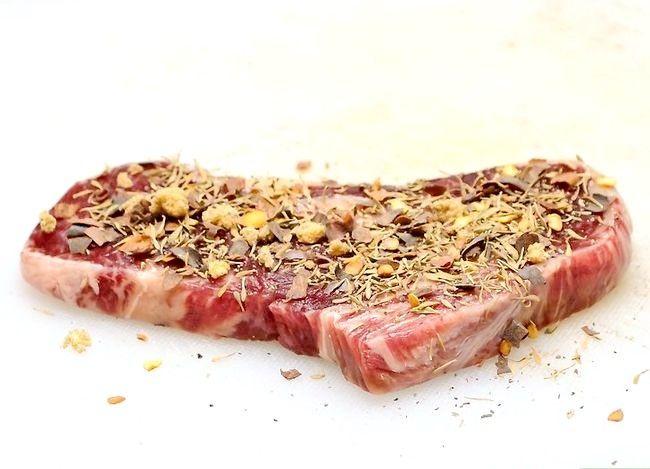 Prent getiteld Maak `n Steak Stap 21
