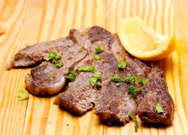Prent getiteld Maak `n Steak Stap 23