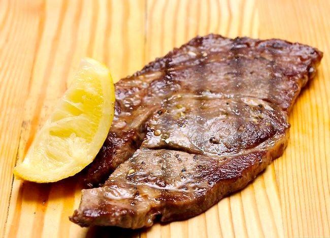 Prent getiteld Maak `n Steak Stap 24