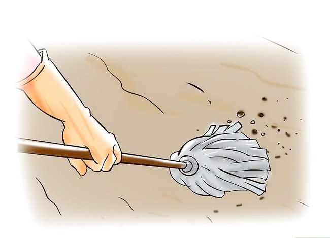 Prent getiteld `n Ondervloer vir Hardhout Stap 1 maak