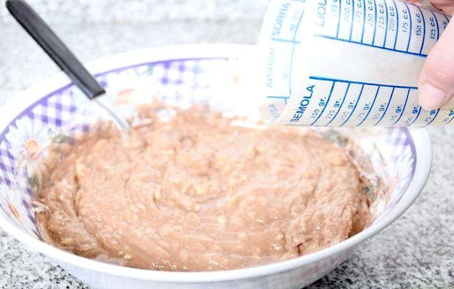 Prent getiteld Maak `n Belgiese Sjokolade Laag Cake Stap 03