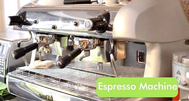 Prent getiteld Maak `n Ristretto (Espresso Koffie) Stap 4