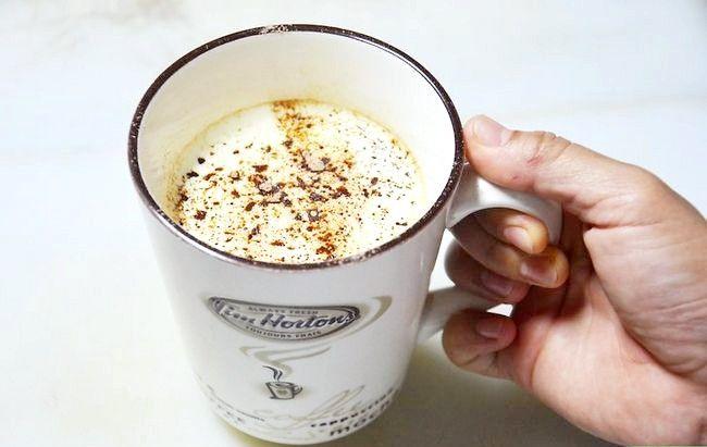 Prent getiteld Maak `n mokka koffie drink Stap 9