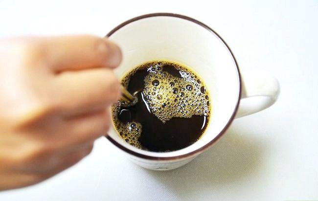 Prent getiteld Maak `n mokka koffie drink Stap 3