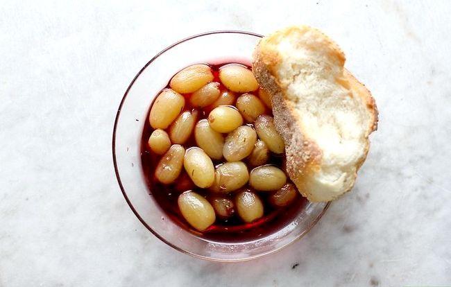 Prent getiteld Maak soet en suur druiwe Stap 5