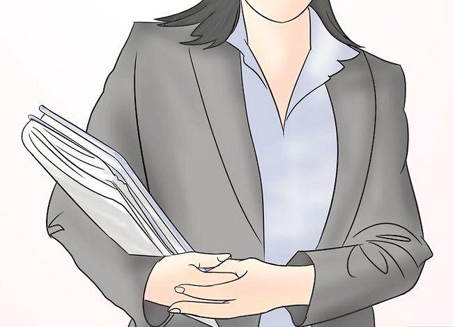 Prent getiteld Berei voor vir `n Administratiewe Assistent Onderhoud Stap 3