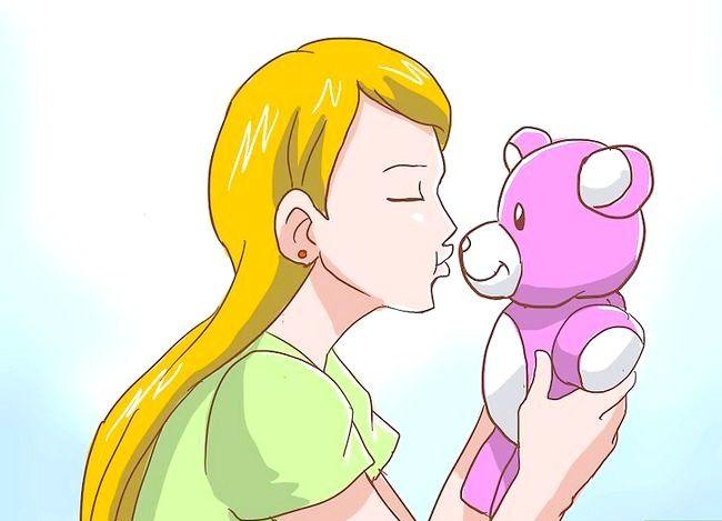 Prent getiteld Berei voor vir jou eerste kiss Stap 5