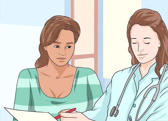 Prent getiteld Berei voor vir `n mammogram Stap 13