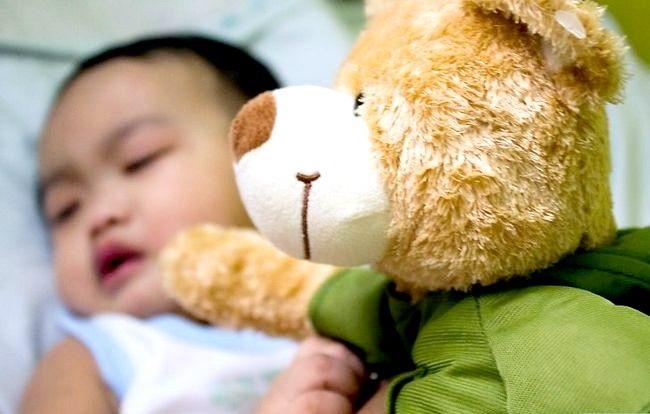 Prent getiteld Voorkom Baby dehidrasie Stap 1Bullet1