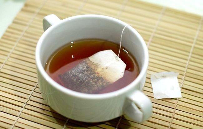 Prent getiteld Reuse Tea Bags Intro
