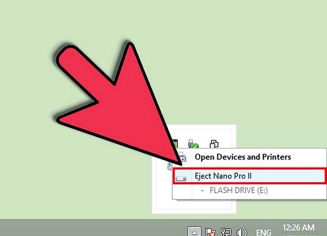 Prent getiteld Verhoed dat `n USB-flash-stasie die lêers en dopgehou binne-in Stap 3 versteur