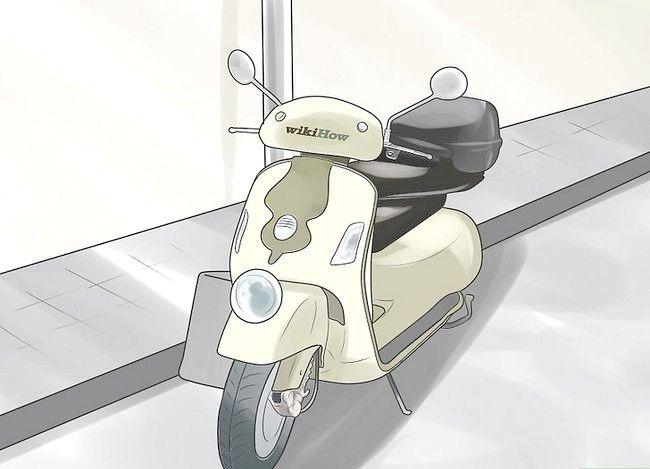 Beeld getiteld Beskerm `n motorfiets vanaf diefstal Stap 6