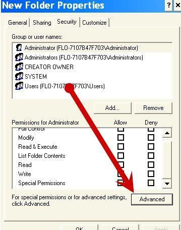 Beeld met die titel Beskerm dopgehou en lêers met Windows XP Professional Edition Stap 3