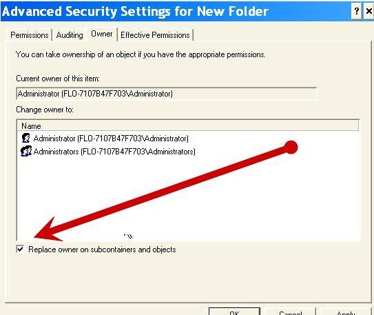Beeld met die titel Beskerm dopgehou en lêers met Windows XP Professional Edition Stap 4