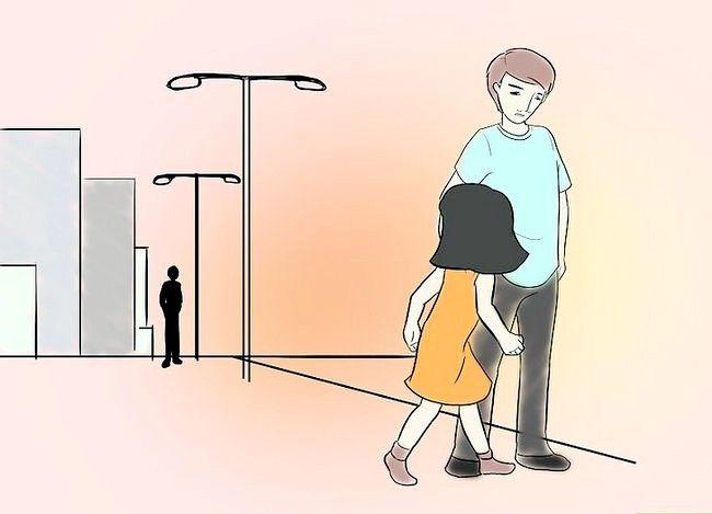 Prent getiteld Beskerm jouself van `n vreemdeling (vir kinders) Stap 2