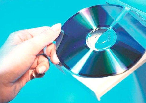 Prent getiteld Brande Songs op `n CD Stap 1