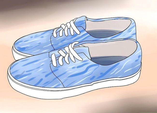 Prent getiteld Stretch Shoes Stap 6