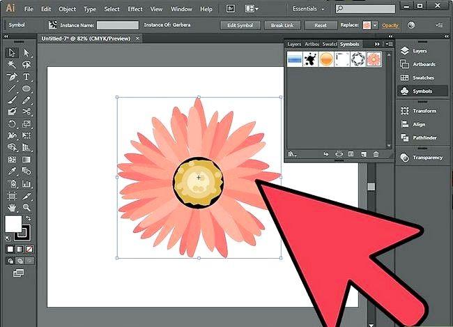 Prent getiteld Rasterize in Illustrator Stap 3
