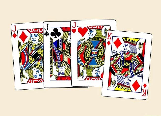 Prent getiteld Voer die 3 Inbrekerskaart truuk Stap 1 uit