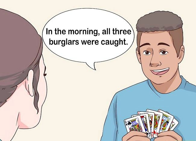 Prent getiteld Voer die 3 Inbrekerskaart truuk Stap 11 uit