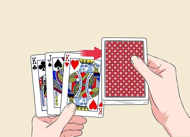 Prent getiteld Voer die 3 Inbrekerskaart truuk Stap 2 uit