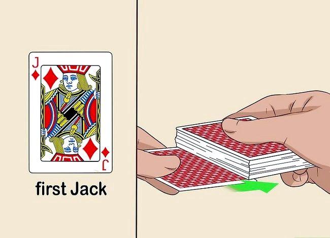 Prent getiteld Voer die 3 Inbrekerskaart truuk Stap 4 uit