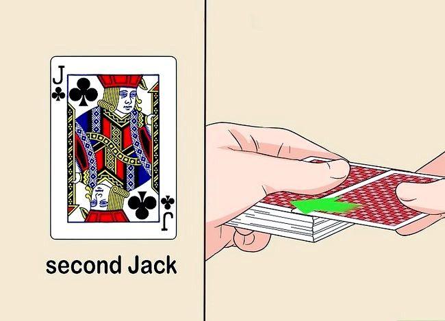 Prent getiteld Voer die 3 Inbrekerskaart truuk Stap 5 uit