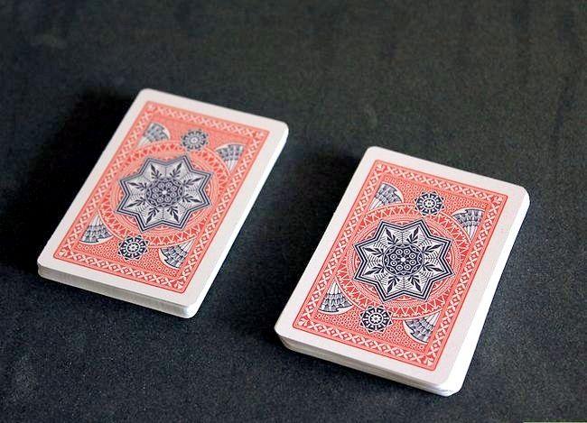 Prent getiteld Voer `n kaart truuk met Math Stap 5