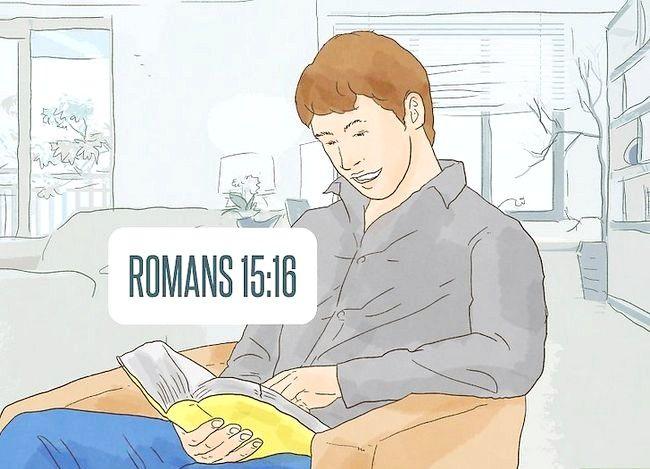 Prent getiteld Geluk ontvang deur Christendom Stap 5