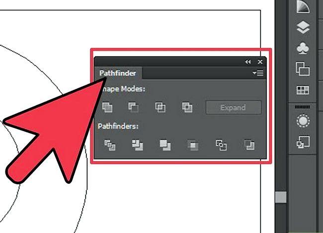 Prent getiteld Sny `n gat in `n objek in Adobe Illustrator Step 8