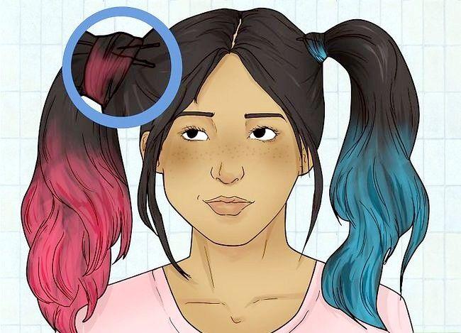 Prent getiteld Do Harley Quinn Hair Stap 5