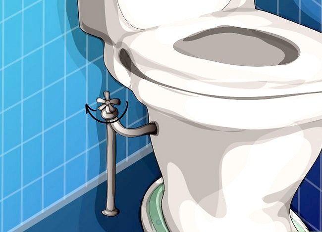 Prent getiteld Haal `n item wat na toilet Stap 4 afgespoel is