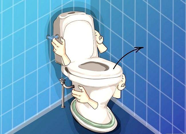Prent getiteld Haal `n item af wat in `n toilet gespoel is Stap 7