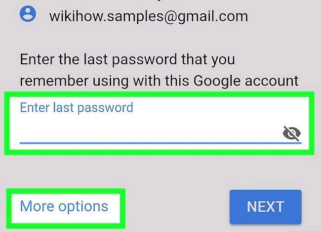 Beeld getiteld Herstel na Gmail Wagwoord Stap 16