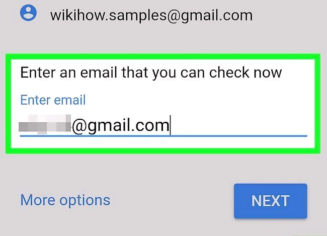 Beeld getiteld Herstel na Gmail wagwoord Stap 17