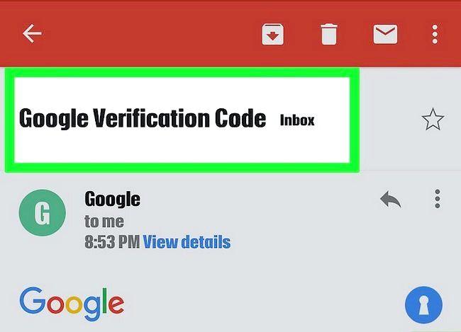 Beeld getiteld Herstel na Gmail Wagwoord Stap 18