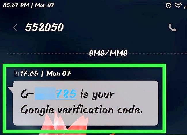 Prent getiteld Herstel na Gmail wagwoord Stap 5