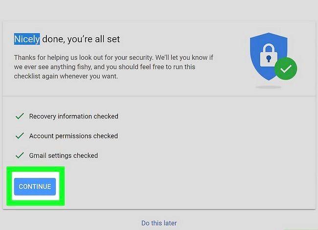 Beeld getiteld Herstel na Gmail wagwoord Stap 9