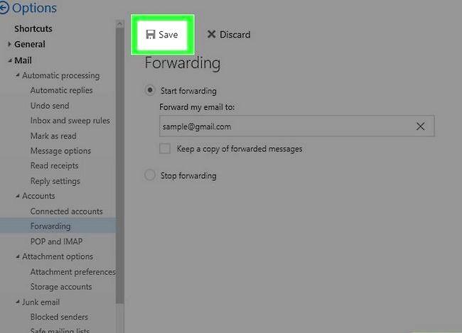 Prent getiteld Stuur E-pos na Gmail Stap 29