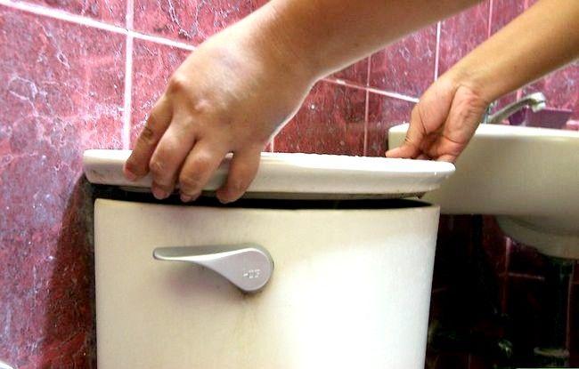 Prent getiteld Vervang `n toilethandvatsel Stap 13