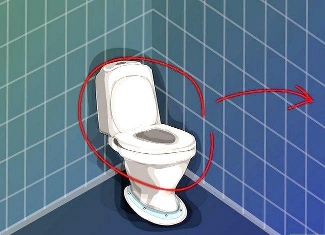 Prent getiteld Vervang `n toilet Stap 1