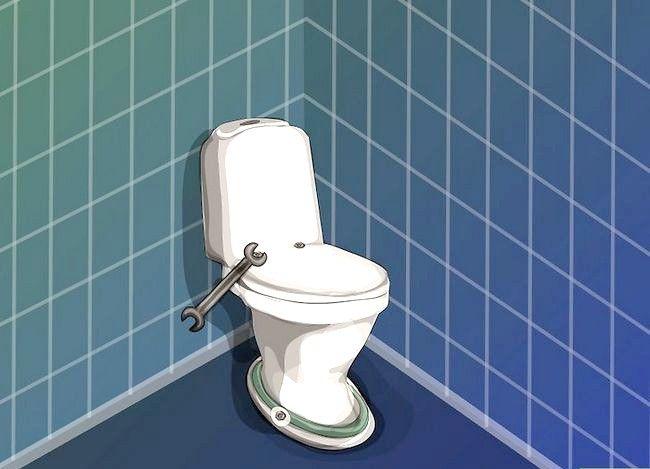 Prent getiteld Vervang `n toilet Stap 13